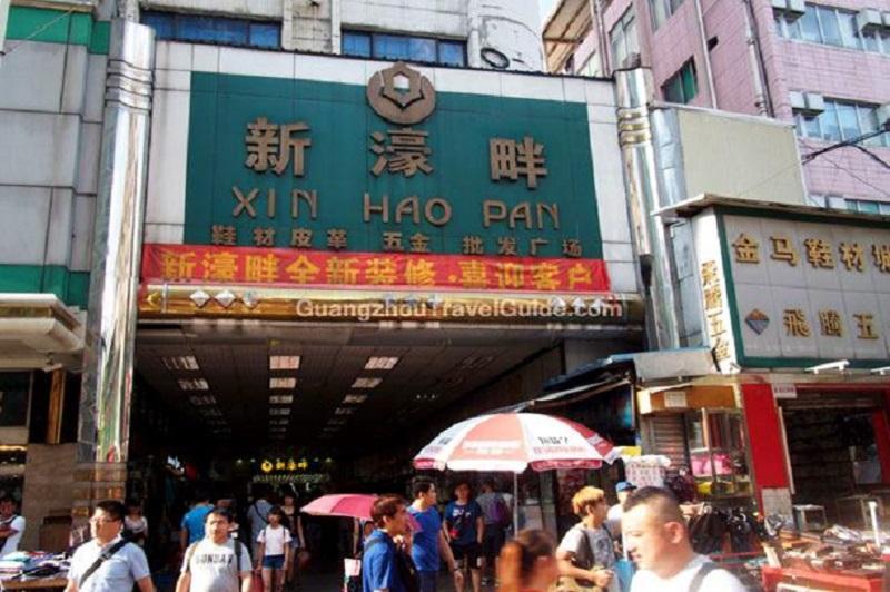 một trong những khu chợ nổi tiếng ở quảng châu cho dân buôn khi đi đánh hàng nên ghé đó là chợ giày xing hao pan